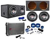 "Best JVC Amps For Cars - (2) JVC CS-GD1210 12"" 2800 Watt Subwoofers+Sealed Sub Review"
