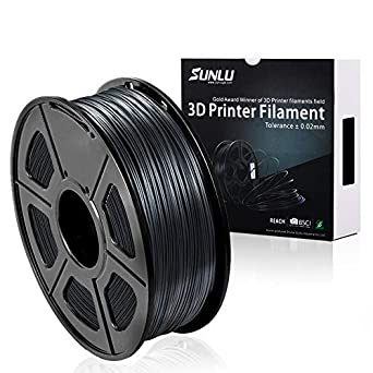 Amazonbasics 3d Printer Filament 1 Kg Spool Gray 1.75mm