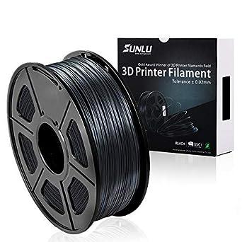 1.75mm 1 Kg Spool Gray Amazonbasics Abs 3d Printer Filament