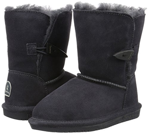 Bearpaw Abigail Charcoal Unisex Kids Shearling Boot Size 1M by BEARPAW (Image #6)
