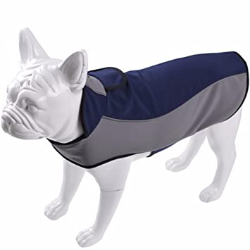 Treat Me Ropa para Mascotas Chaqueta Impermeable para Mascotas Perros Abrigo de Invierno Cálido Abrigo Impermeable de Seguridad Suministros: Amazon.es: ...