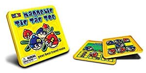 Mac & Zack MZ660061 Tic Tac Toe Magnetic Travel Game