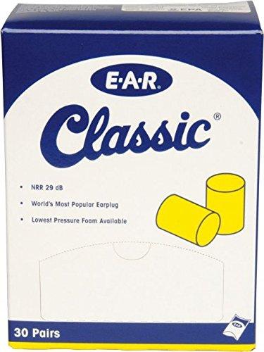 3 M mmm3101060 E A Rクラシック耳栓、枕パクシュ、Uncorded、泡( 30ペア、  Yellow (6 Pack) B006J9KG6Y