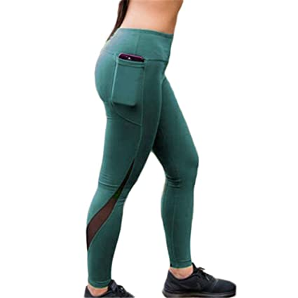 1bd6ca5e4387bf Hybreace Women Push up High Waist Yoga Leggings Workout Gym Sports Pants  Running Trousers: Amazon.in: Home & Kitchen