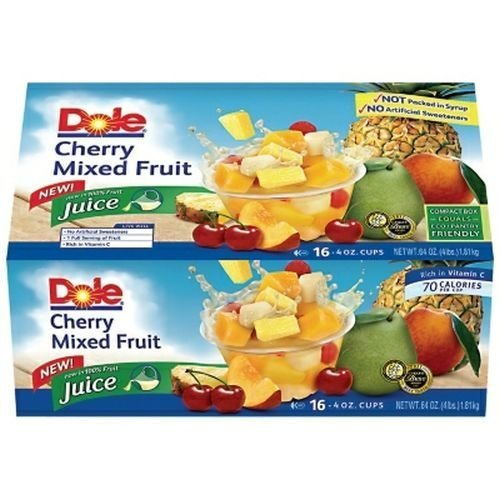 Dole Cherry Mix Fruit 16-4oz Cups by Dole