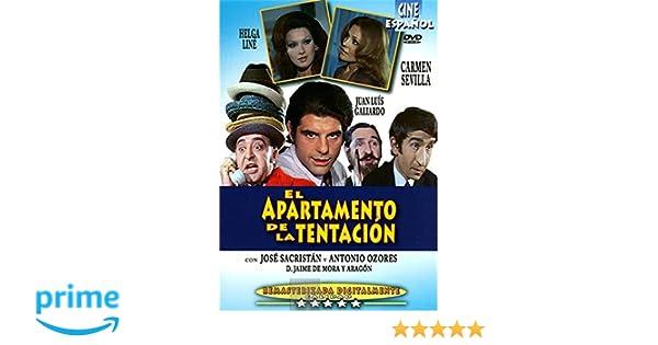 El apartamento de La Tentacion [DVD]: Amazon.es: Carmen Sevilla, Juan Luis Galiardo, José Sacristán, Helga Liné, Mari Carmen Yepes, Antonio Ozores, ...