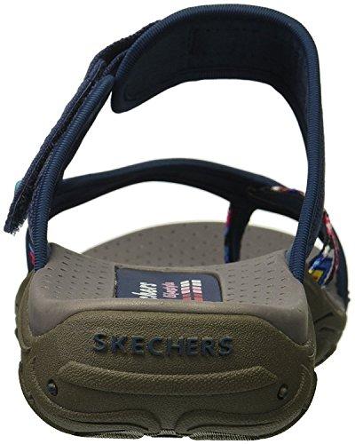 rasta Reggae Skechers Sandals flop Slop Multi Navy Women's Flip 5pwwcqHEC