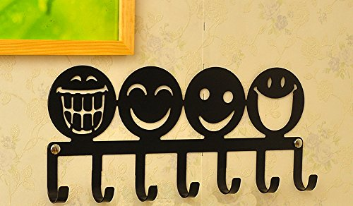 Cute Emojis Decorative Iron Wall Art