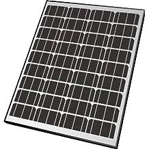 Nature Power 50062 65-watt Monocrystalline Solar Powered 12-volt Battery Charger