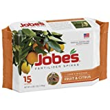 Jobe's Fruit and Citrus Tree Fertilizer Spikes, 15 Pack