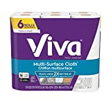 Viva Multi-Surface Cloth Choose-A-Sheet* Paper Towels, 6 Value Rolls