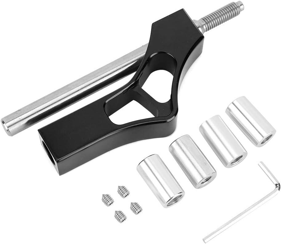Aramox Shift Extender Lever Shift Knob Extender Aluminum Car Adjustable Gear Extender Shifter Lever Shift Knob Fit For Civic Integra