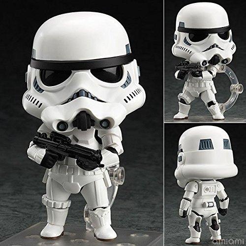 Anime Cartoon Star War Force Awakens Darth Vader Stormstrooper Darth Maul 501 Q Nendoroid 10CM Model Action Figures Pvc Rinquedo