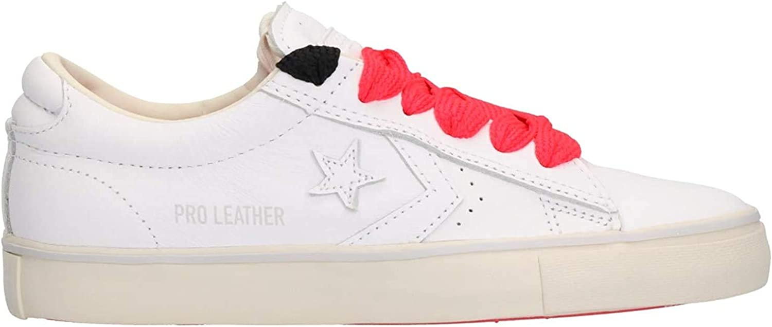 Converse Lifestyle Pro Leather Vulc Ox, Sneakers Basses Femme Multicolore White White Turtledove 102