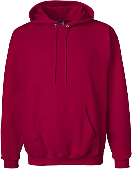 PULLOVER HOODED SWEATSHIRT RED 3XL
