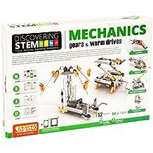 Engino ENG-STEM05 Discovering Mechanics Gears & Worm Drives Construction Kit