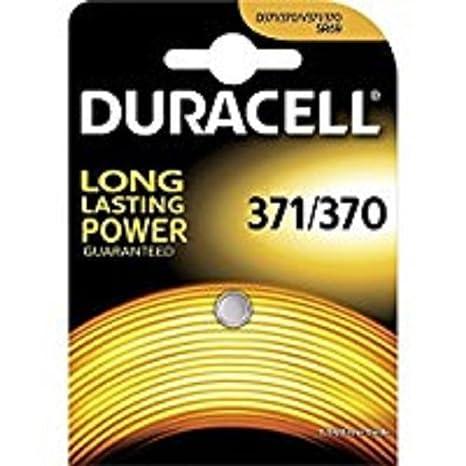 Duracell - Pila especial para reloj- 371/370 Blister Pequeño x 1: Amazon.es: Electrónica