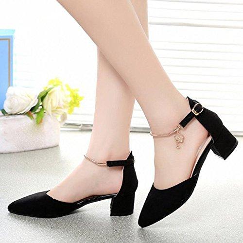 Sandalias de mujer, Internet Zapatos de los altos talones wedding los zapatos de las sandalias del verano Negro