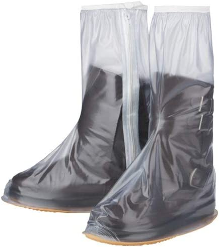 Fashion Mens And Womens High Shoe Covers White Raining Cycling Shoe Covers Black Waterproof Rain Boots Electric Motorcycles Tongboshi Rainproof Shoe Covers Blue