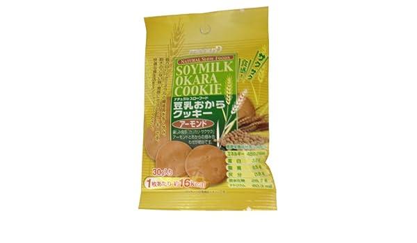Dee leche de soja galletas de almendra Okara 30gX12 bolsas: Amazon.es: Alimentación y bebidas