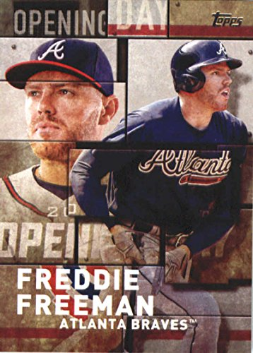 2018 Topps MLB Opening Day #OD-12 Freddie Freeman Atlanta Braves Baseball (Braves Mlb Baseball Cards)