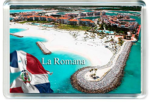 D329 La Romana, Dominican Republic Refrigerator Magnet The Dominican Republic Travel Fridge Magnet ()