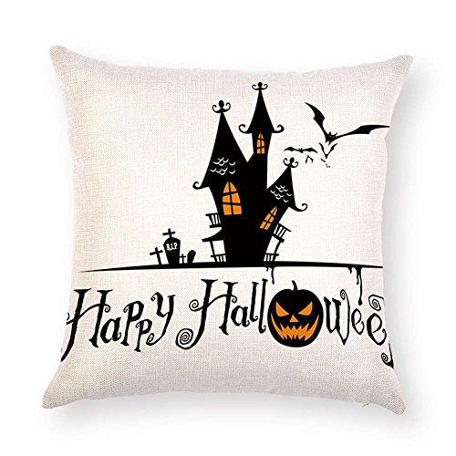 SUNONE11 Cross RIP Castle Halloween Pillow Case Cushion