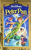 peter pan disney vhs - Peter Pan (45th Anniversary Limited Edition) [VHS]
