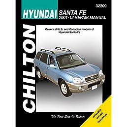hyundai santa fe chilton haynes publishing 9781620922132 amazon rh amazon com Hyundai Santa Fe Manual Book Ppi2pass