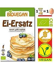 Substitut Oeuf Bio Sans Gluten ' Lot De 4 Sachets x 5g ' | 1 Sachet équivaut à 1 Oeuf - Substitut Oeuf Vegan 100% Végétal Avec Farine De Lupin Douce