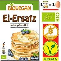 Sustituto Huevo Orgánico Sin Gluten Lote de 4 Bolsas x 5 g | 1 Bolsa
