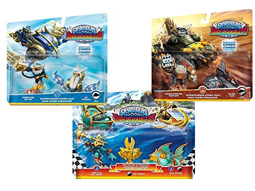 Amazon Exclusive: Skylanders Superchargers: Fly, Dive, Drive Toy Bundle