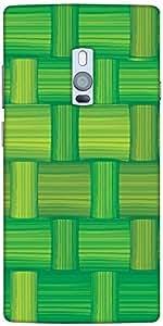 Snoogg Green Bamboo Mat Seamless Vector Texture Designer Protective Back Case...