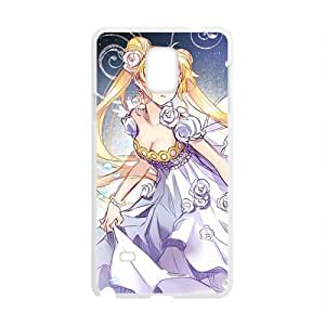 Anime cartoon lovely charming girl Cell Phone Case for Samsung Galaxy Note4