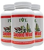 IVL – Second Wind Herbal Respiratory Health Formula, 120 Capsules (Pack of 3) For Sale