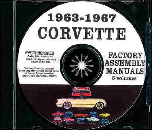 1963-1967 Chevrolet Corvette Assembly Manual on CD-ROM (1966 66 Chevy Corvette)