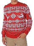 Knit Knack Men's Reindeer Love Sweater Size XL
