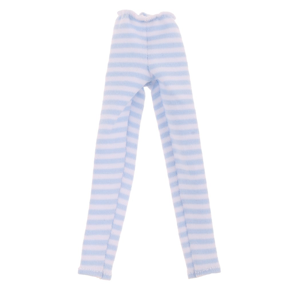 Blau CUTICATE Lange Hose Leggings Leggins Puppenkleidung F/ür 1//6 Blythe Bjd Puppen