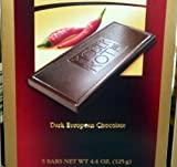 Moser Premium Fine German Chili / Dark Chocolate Bars.(3 Pack) by Moser Roth