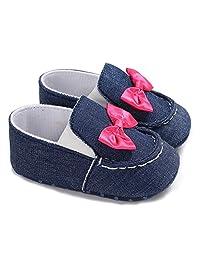Franhais Toddler Baby Boys Girls Canvas First Walkers Anti-Slip Sneaker Prewalkers