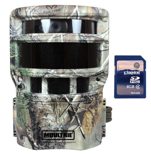 MOULTRIE No Glow Panoramic P-150i Infrared Digital Trail Game Camera  SD Card