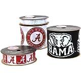 Offray University of Alabama Crimson Tide Printed Craft Ribbon Pack, 12-Yard