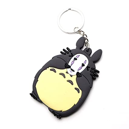 Amazon.com  CellDesigns Japanese Anime Totoro PVC Keychain (J-No ... 9a965d4ceff2