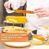 3PCS Cake Decorating Angled Icing Spatula Set