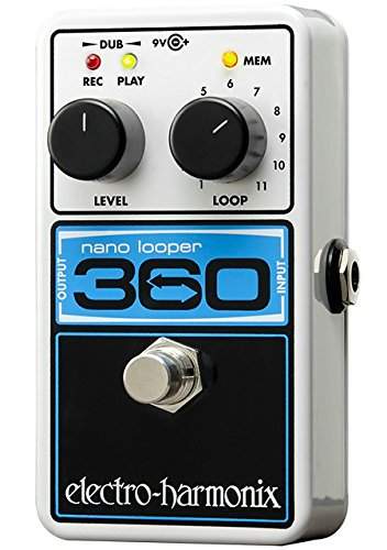 Electro Harmonix 665223 efecto de guitarra eléctrica con sintetizador Filtro Nano Looper 360