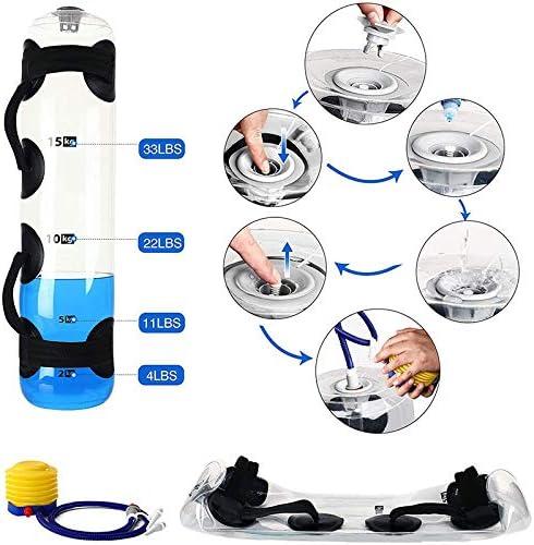 Dispositivo de equilibrio y n/úcleo Bolsa de arena para entrenamiento Bolsa de agua para entrenamiento con pe Bolsa de agua ajustable y bolsa de energ/ía con agua Bolsa de arena para entrenamiento