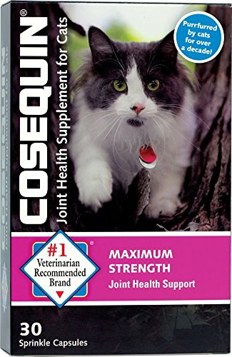 Nutramax Cosequin Sprinkle Capsules for Cats, 30 Count (Chondroitin 30 Capsules)