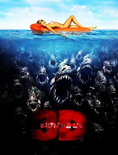 - 27 x 40 Piranha 3-D Movie Poster