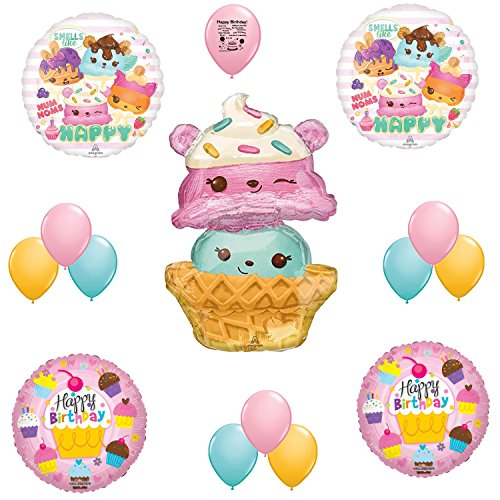 Num Noms Party Supplies Birthday Balloons Decoration Kit
