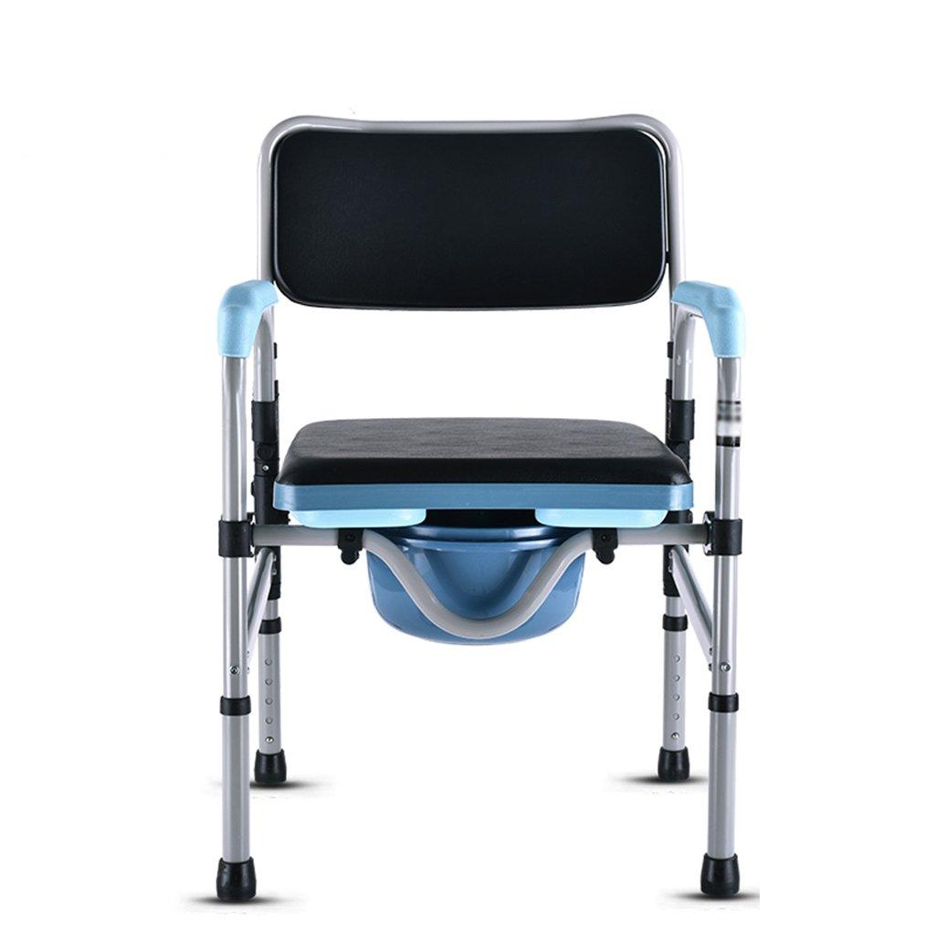 便器の椅子安全なトイレ折りたたみ可能な高さ調節可能な高齢者妊娠中の女性 ( 色 : #A ) B07C3WMNG8 #A #A